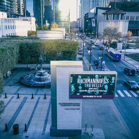 Schermerhorn Symphony Center Marquee Sign – Nashville, Tennessee