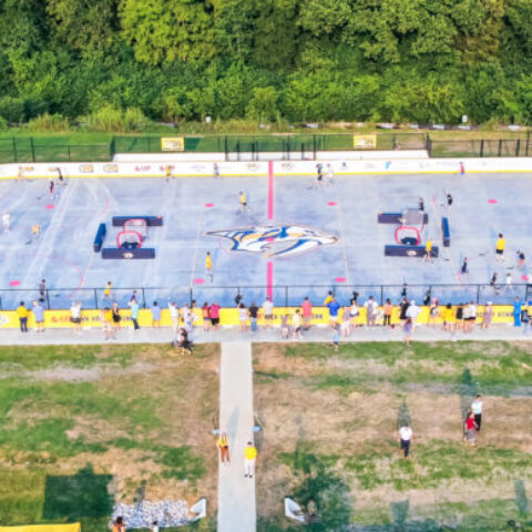Nashville Predators | YMCA DEK Hockey Rink – Nashville, Tennessee